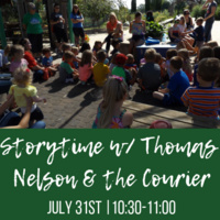 Storytime with Thomas Nelson & the Waterloo Courier