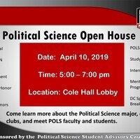 Political Science Open House