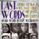 Last Words: Giving Victims a Voice Workshop by David A. Romero (A Spoken Word Poetry Workshop)