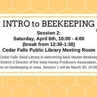 Intro to Beekeeping, Session 2