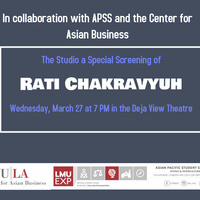 "Center for Asian Business Movie Screening: ""Rati Chakravyuh"""