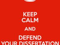Final PhD Defense for Xinchang Zhang