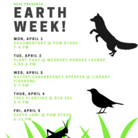 Earth Week: Student Documentary and Discussion