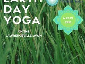 Earth Day Yoga on the Lawn