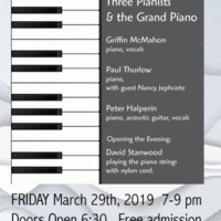 Three Pianists & The Grand Piano