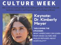 Arab & Muslim Culture Week, Keynote by Kimberly Meyer