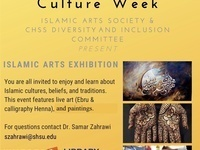 Arab & Muslim Culture Week: Islamic Art Exhibition