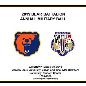 2019 Bear Battalion Annual Military Ball