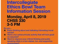 SHSU Intercollegiate Ethics Bowl Info Session