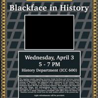 Blackface in History