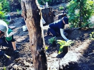 Earth Day Clean-up in Boise Eliot Native Grove