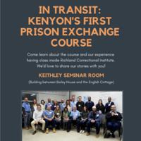 In Transit: Kenyon's First Prison Exchange Course