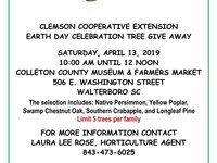 CLEMSON EXTENSION EARTH DAY CELEBRATION