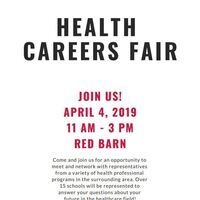 Alpha Epsilon Delta's Health Careers Fair