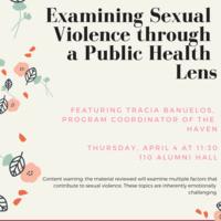 Examining Sexual Violence through a Public Health Lens