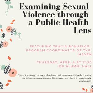 Examining Sexual Violence through a Public Health Lens