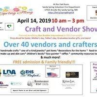 Spring Fling Craft and Vendor Show