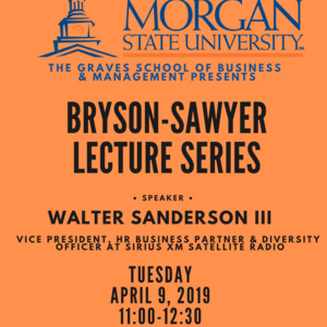 Bryson Sawyer Lecture Series