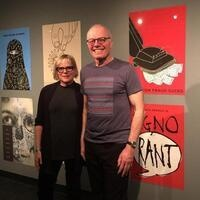 Graphic Design Juror Lecture:  Joe Scorsone and Alice Drueding
