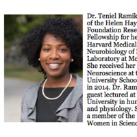 Dr. Remikie - Lunch with HHMI Visiting Scholar   Biological Sciences
