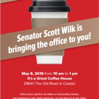 Senator Scott Wilk holds Mobile Office Hours in Castaic