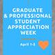 Graduate & Professional Student Appreciation Week: Swag Giveaway