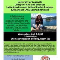 12th Annual Latin American and Latino Studies Spring Showcase