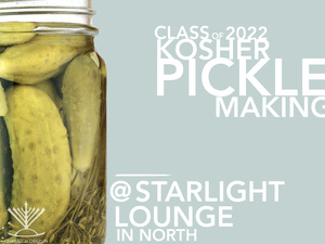 Pickle Making for First Years