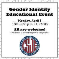 Gender Identity Educational Event