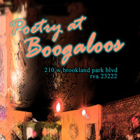 Poetry at Boogaloos!