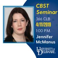 CBST Seminar - Jennifer McManus, Maynooth University