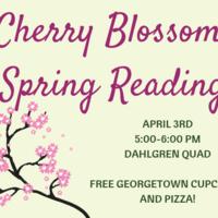 Cherry Blossom Spring Reading