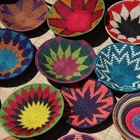 Multicultural Craft  - African Woven Pots