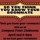 How Well do You Know Your Roommate Game Show