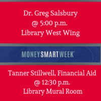 MONEY TALKS:  Exploring Finance with Dr. Greg Salsbury