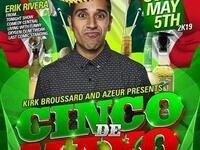 Erik Rivera at Cinco de Mayo Comedy Explosion