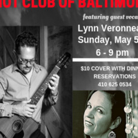 Hot Club of Baltimore with guest vocalist Lynn Veronneau