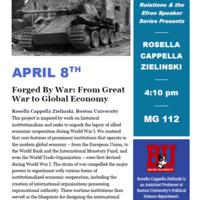 Efron Speaker Series presents Rosella Cappella Zielinski | International Relations