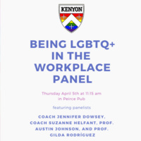 LGBTQ+ in the Workplace Panel