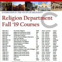 Religion Dept. Pre Registration
