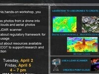 Intro to Drones and LiDAR for Mapping--Friday session
