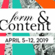 Form & Content 2019