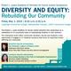 Diversity & Equity:  Rebuilding Our Community