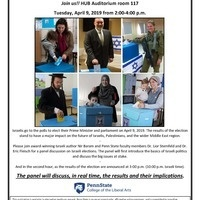 Israeli Election and Panel Discussion