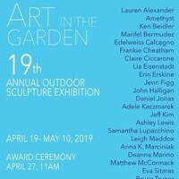 Art in the Garden: 19th Annual Outdoor Sculpture Exhibition