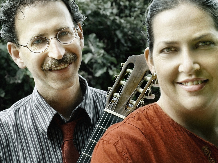 Ensemble in Residence Concert by Newman & Oltman, Guitar Duo