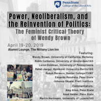Power, Neoliberalism, and the Reinvention of Politics: The Feminist Critical Theory of Wendy Brown