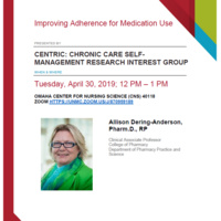 Improving Adherence for Medication Use
