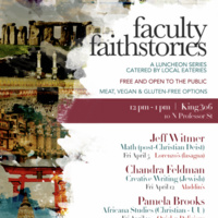 Faculty Faith Stories with Pamela Brooks