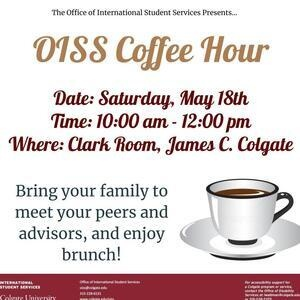 Graduation - International Student and Parents Coffee Hour